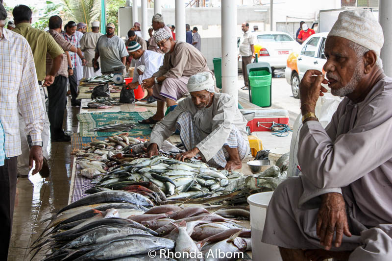 Fish market in Muscat Oman