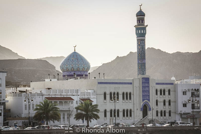 A mosque in Oman