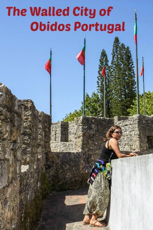 Obidos is a chamring and colourful medieval village in #Portugal surrounded by a fully intact roman wall.