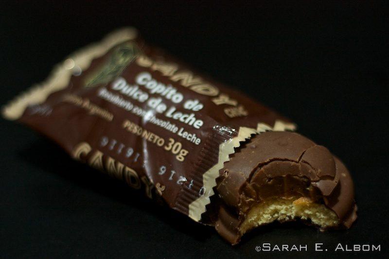 A copito de dulce in Argentina. Photo copyright ©Sarah Albom 2016