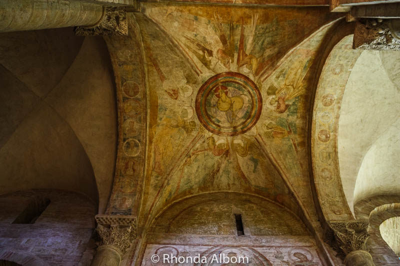 in the Basilica of Saint Sernin in Toulouse France