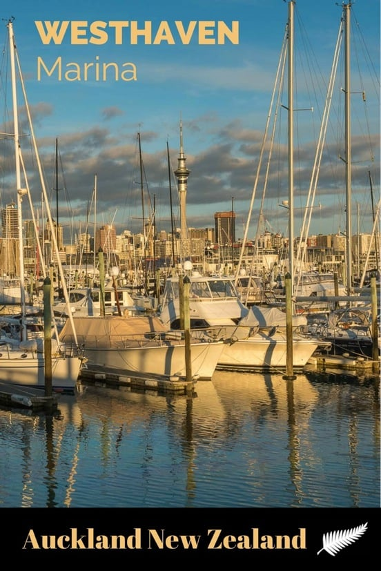 Westhaven Marina is the largest yacht marina in the Southern Hemisphere, home to New Zealand's America's Cup, and a lovely spot to watch the sunset. Read the article for many more photos.