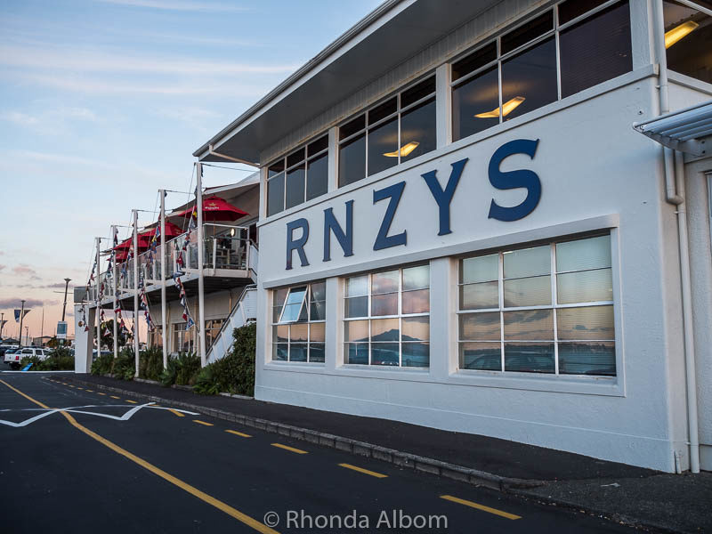 The Royal New Zealand Yacht Squadron