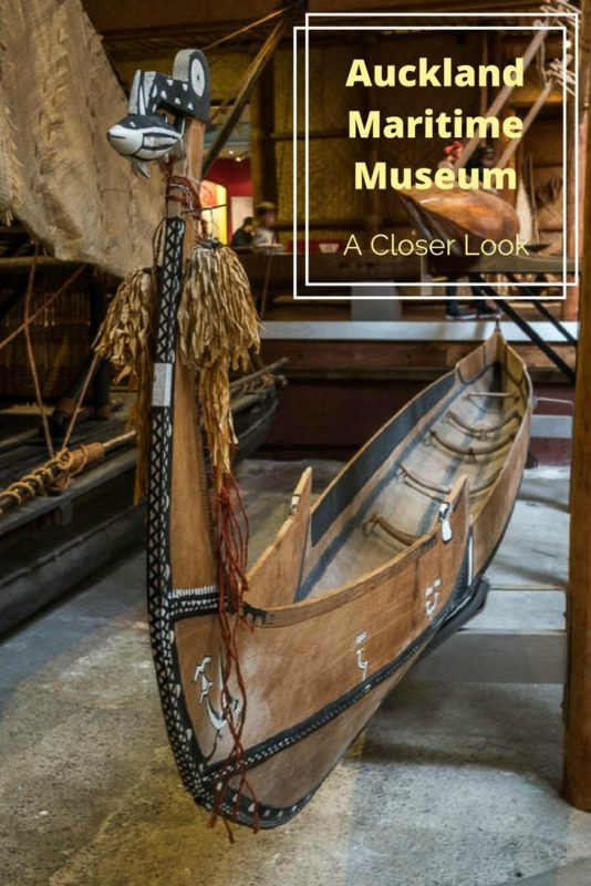This is one of many Polynesian canoes at the Auckland Maritime Museum. Read the article for a closer look at images of the craftsmanship details.