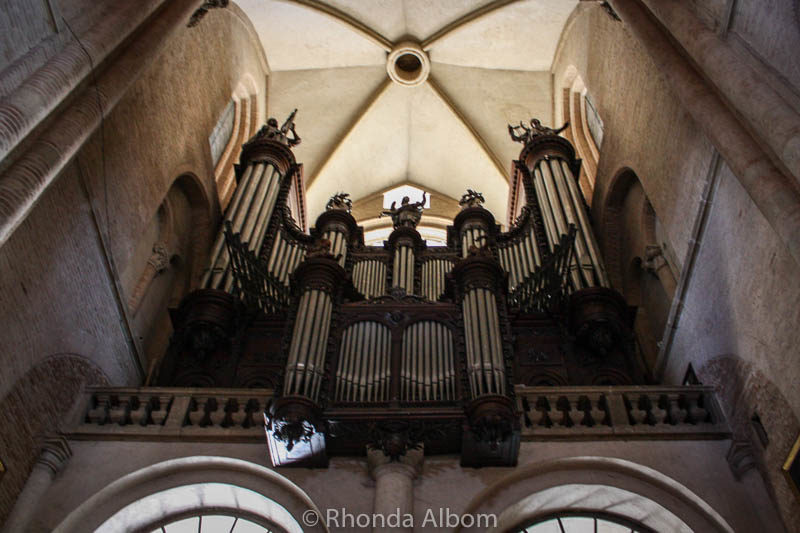 Cavaille-Coll Organ in the Basilica of Saint Sernin in Toulouse France