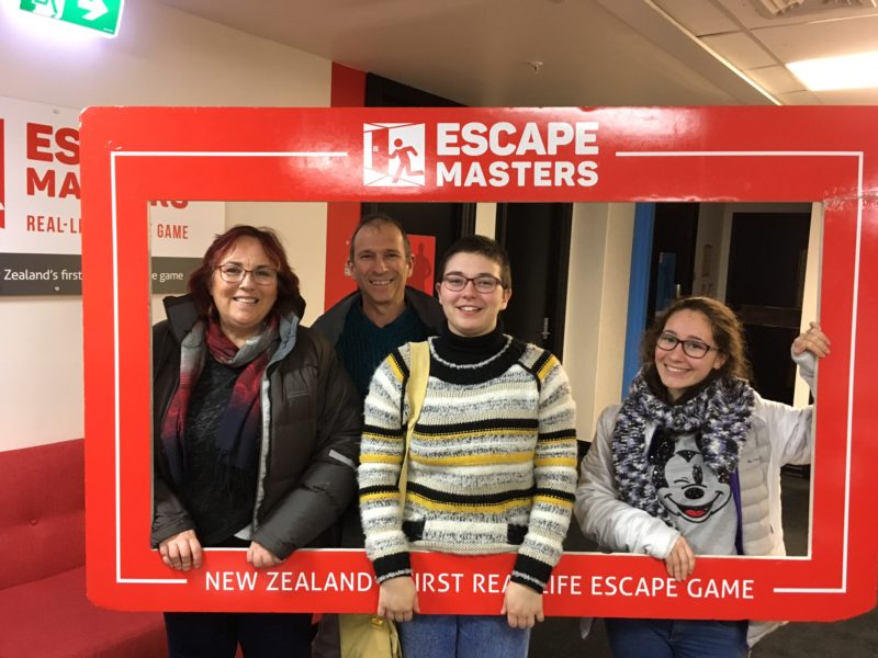 Escape room are great rainy day activities, Auckland New Zealand
