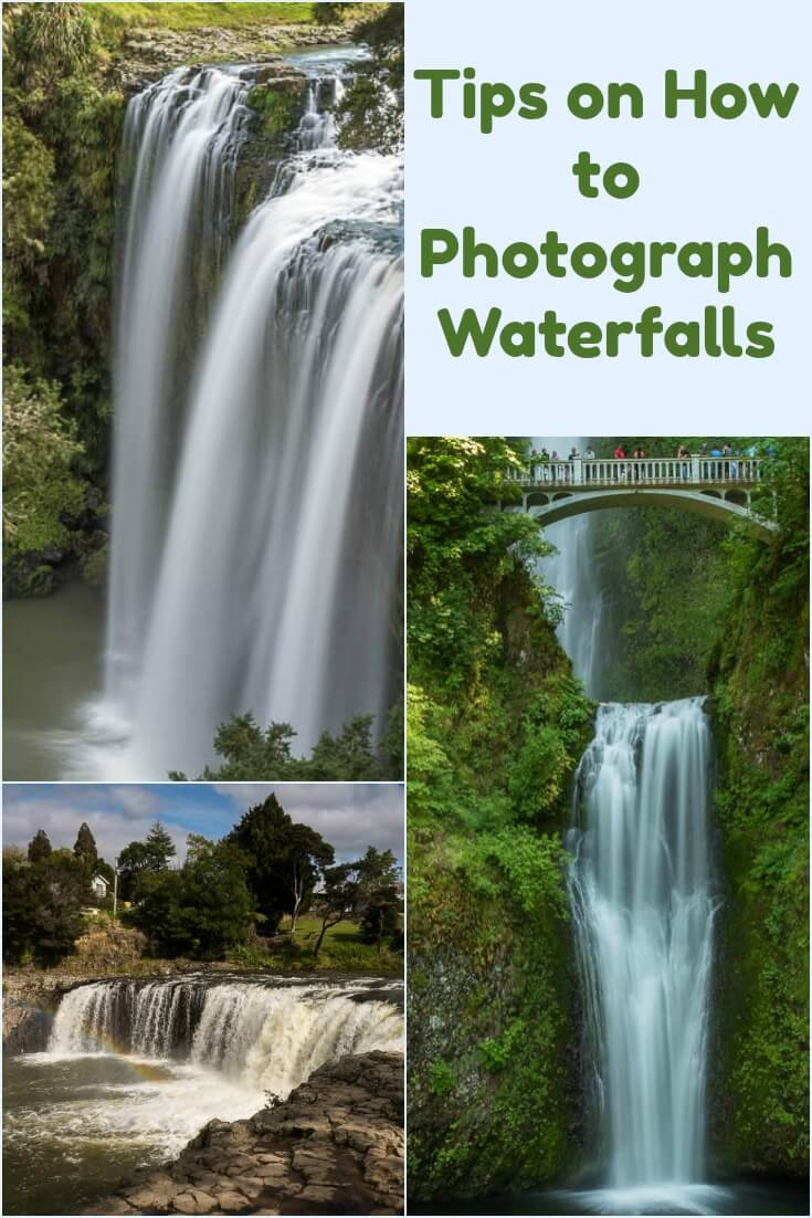 A collection of waterfall photography from around the world along with a few simple tips on how to photograph waterfalls to get different effects; either smooth flowing water or droplets frozen in time. Create the beautiful landscape waterfall pictures you always wanted to take. #waterfall #photography #photographytips #longexposure