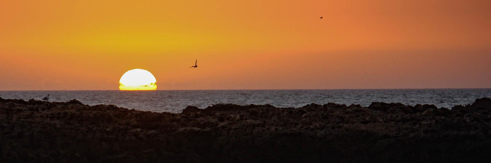 Sunset at Essaouira Beach