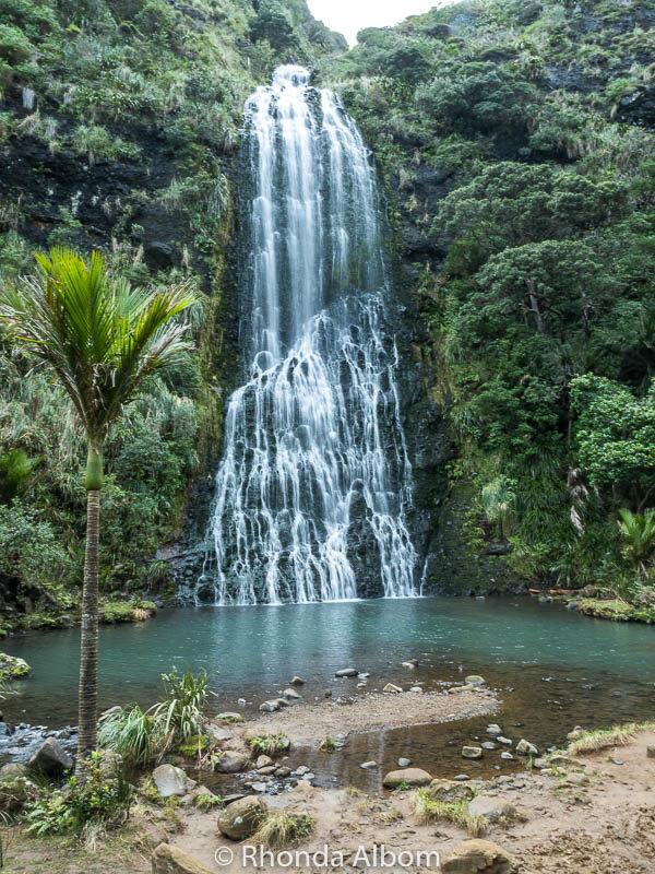 Karekare Falls Auckland New Zealand