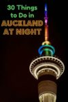Casino, fountain lights, reverse bungy, comedy clubs, nightclubs, and bars are just a few of the many things to do in Auckland at night.