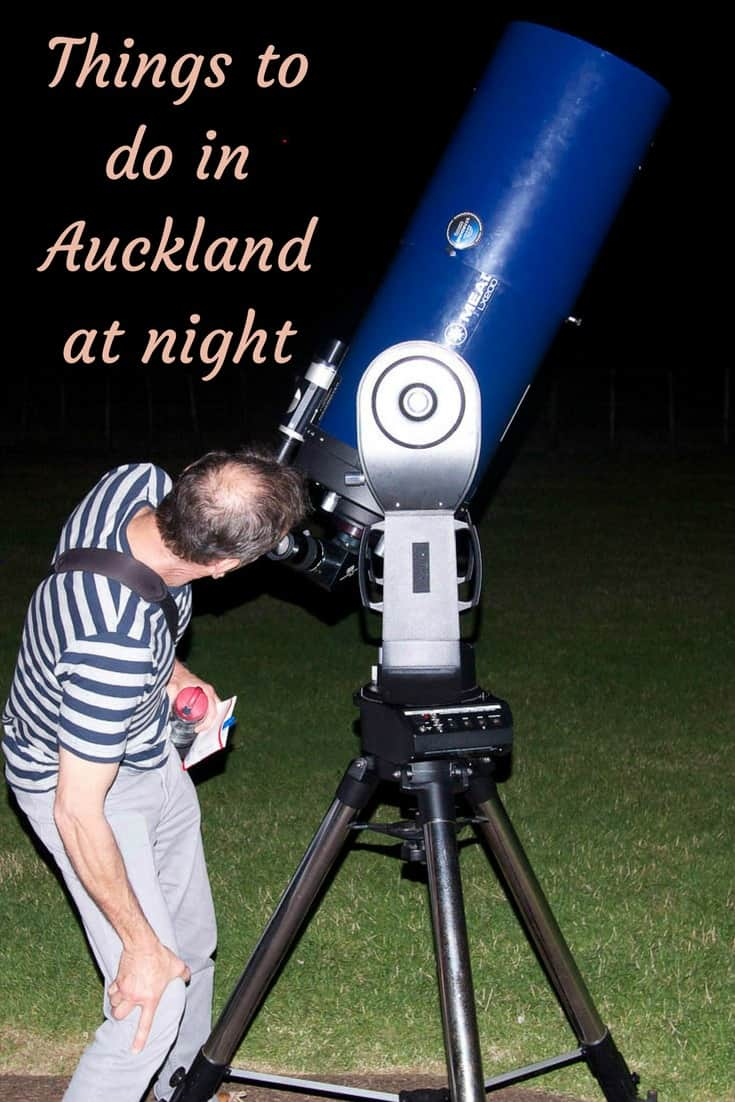 Looking at the night sky, reverse bungy, and bars are just a few of the many things to do in Auckland at night. Read the article to find a few surprises.