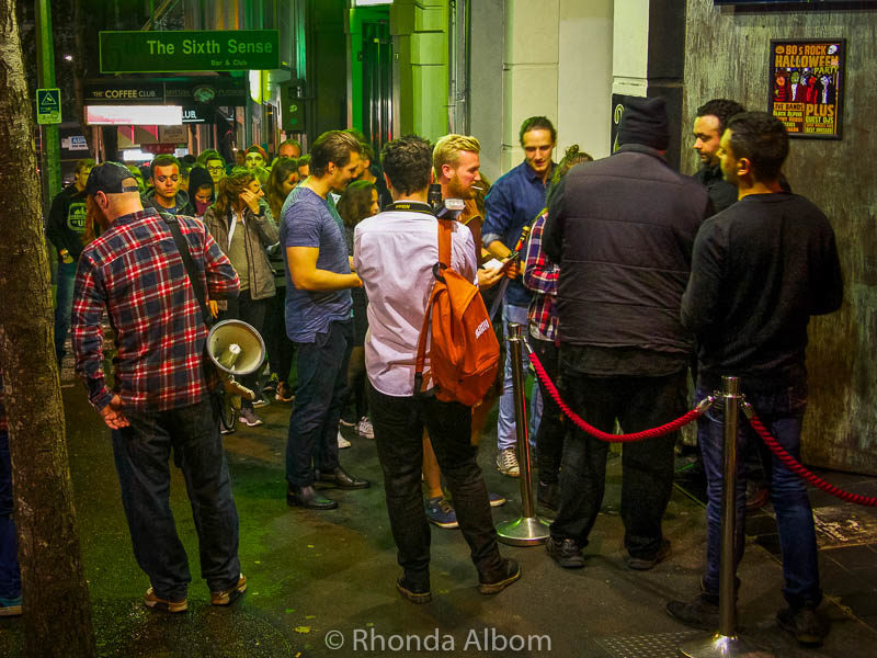 Frenzi Bar Crawl is the best nightlife in Auckland on a Thursday night.