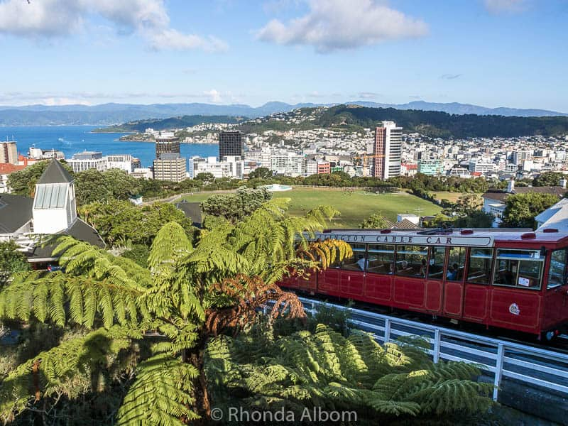 Riding the Cable Car is a Wellington must do in New Zealand