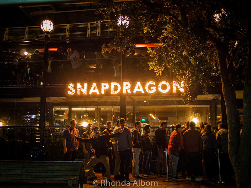 Snapdragon is one of the things to do in Auckland at night