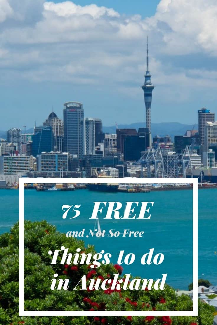There is something for everyone on this list of 75 free or nearly free things to do in Auckland. Travel in New Zealand.