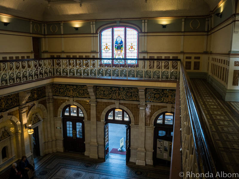Inside the Dunedin Train Station, Dunedin New Zealand