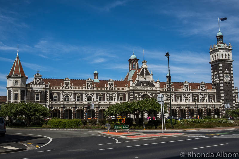 Dunedin Train Station, Dunedin New Zealand Train Station