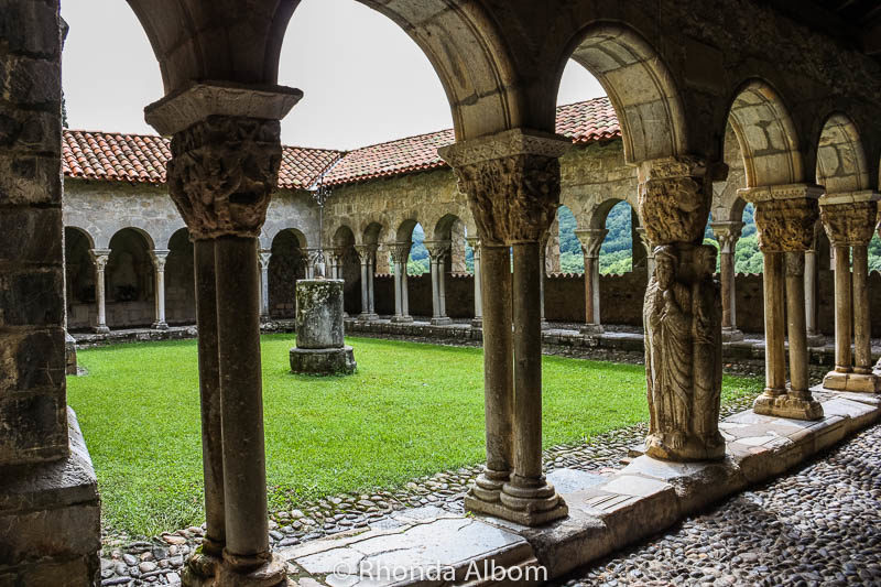 Cloisters of St Bertrand de Comminges Cathedral France