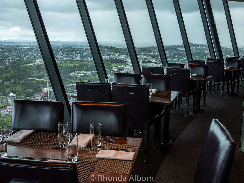 Orbit is New Zealand's only rotating restaurant