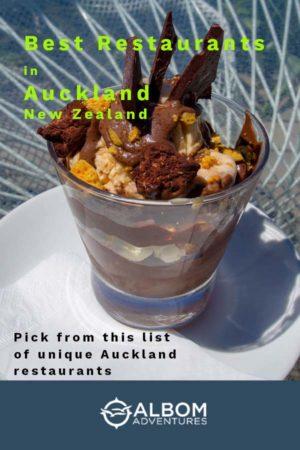 Unique restaurants in Auckland New Zealand