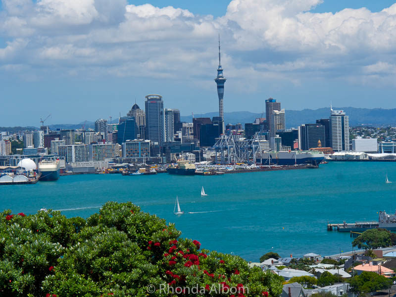 The view from Mt. Victoria is one of the many things to see in Auckland New Zealand