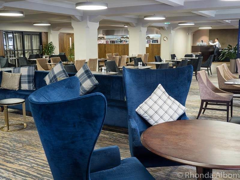 The Post Bar and Parcels Restaurant in the Distinction Hotel Dunedin New Zealand