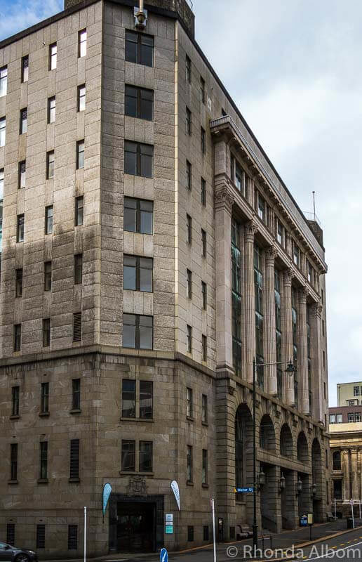 Distinction Hotel is now in the old post office in Dunedin New Zealand