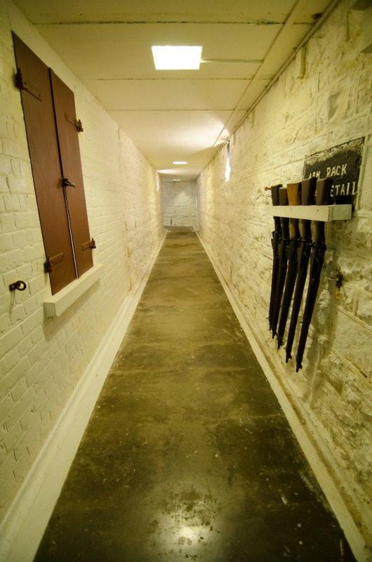 Fort Taiaroa Underground Tunnel