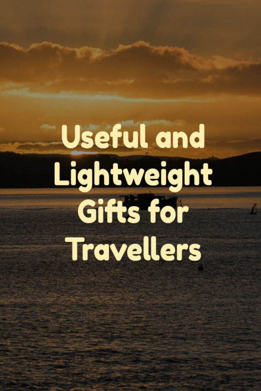 Finding a perfect gift is never easy, but when your recipient travels light, useful travel gifts that are lightweight, compact and practical, are critical.