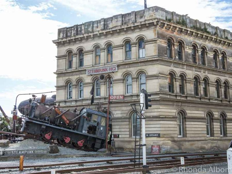 Steampunk HQ in the Oamaru Victorian Prescient New Zealand