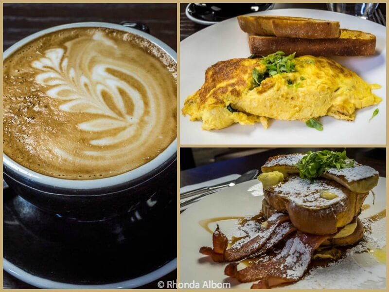Breakfast at Parcels Restaurant at Distinction Hotel Dunedin