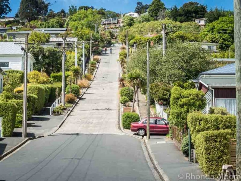 Baldwin Street is the steepest street in the world