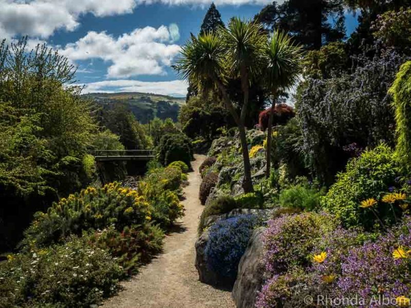 Dunedin Botanic Garden in New Zealand