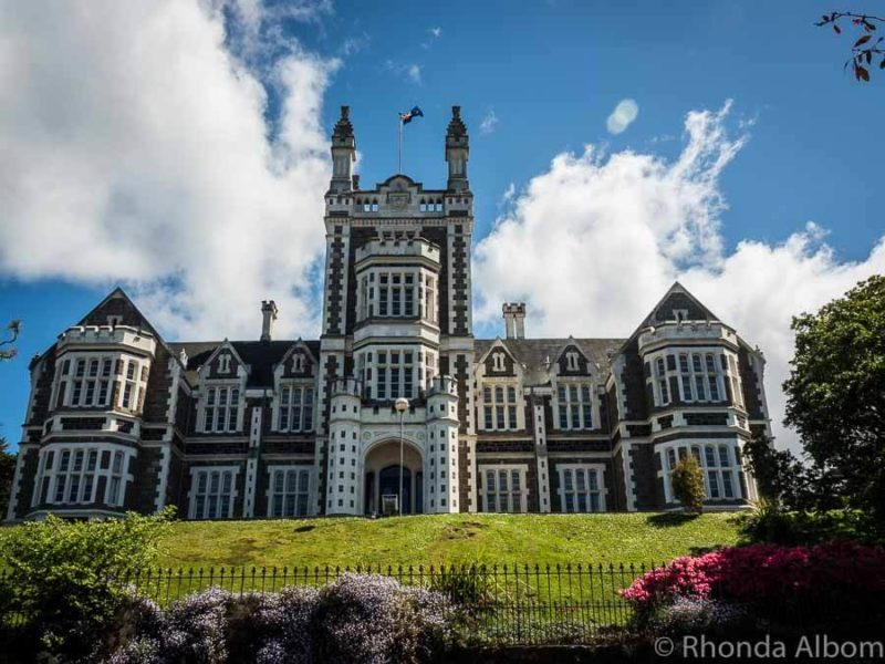 Otago Boys High School in Dunedin New Zealand