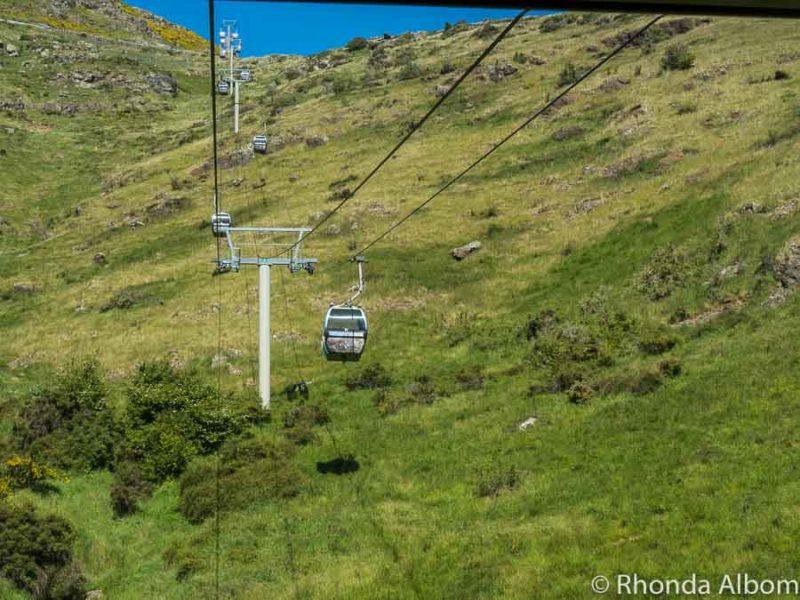 Gondola. Christchurch New Zealand
