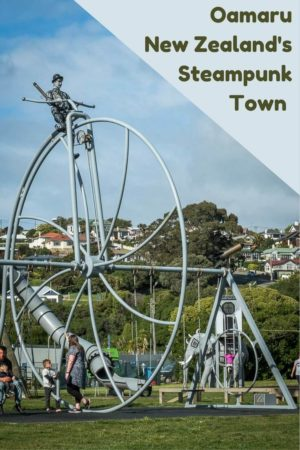 Oamaru is New Zealand's Steampunk capital. Read the article to see images of the Whitestone Victorian architecture to the Steampunk museum and more.