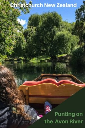 There is no better way to enjoy the colourful Christchurch Botanic Gardens than relaxing while punting on the Avon River. An iconic New Zealand activity. Read the article to see more of the gardens and the punt.