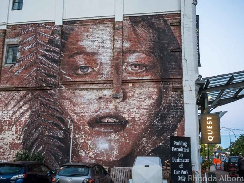 realistic street art by Melbourne artist Rone.