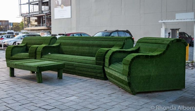 The Green Reading Room is a public artwork in Christchurch New Zealand