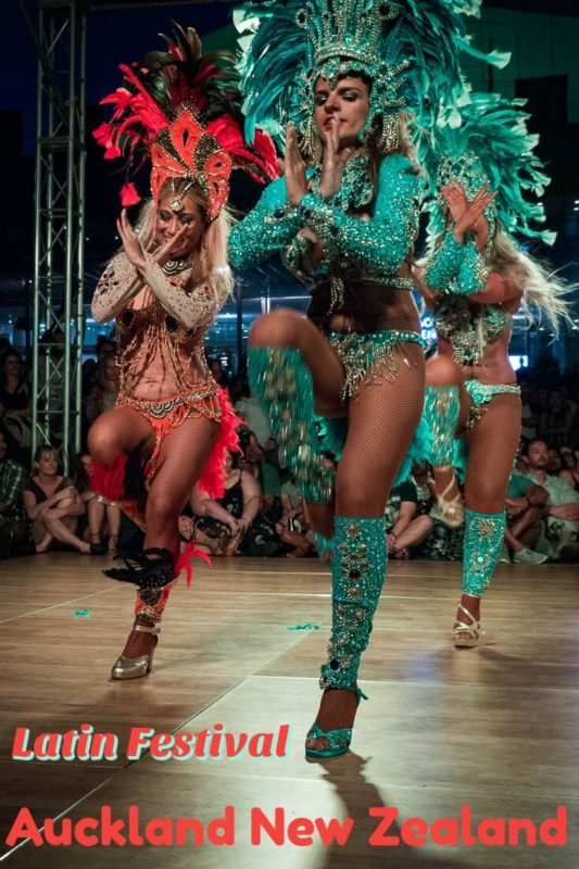 Samba at Latin Festival in Auckland New Zealand. See the article for more photos of dance, Capoeira, food and more.
