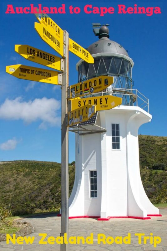 Driving itinerary from Auckland to Cape Reinga