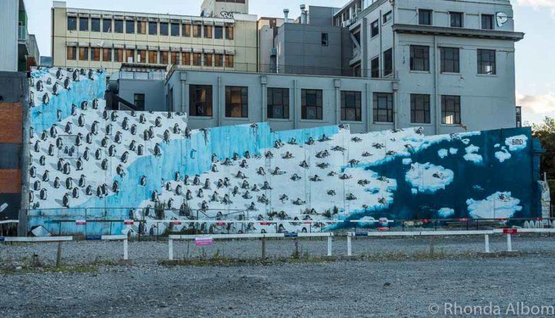 Street art in Christchurch New Zealand
