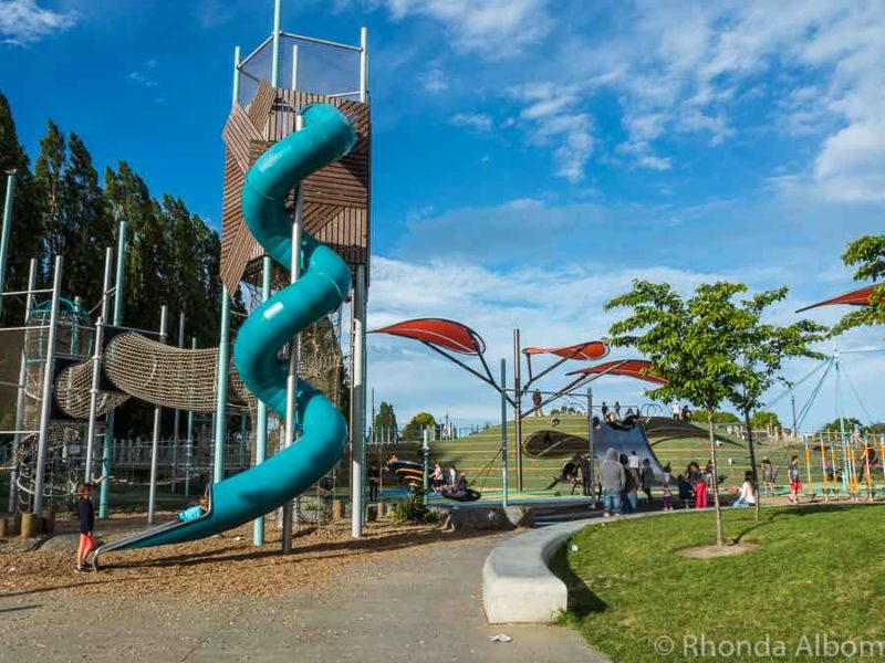 Margaret Mahy Family Playground is one of many things to do in Christchurch for kids New Zealand