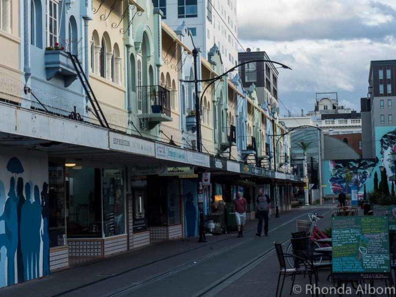 New Regent Street in Christchurch