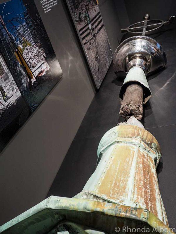 Quake City museum in Christchurch New Zealand