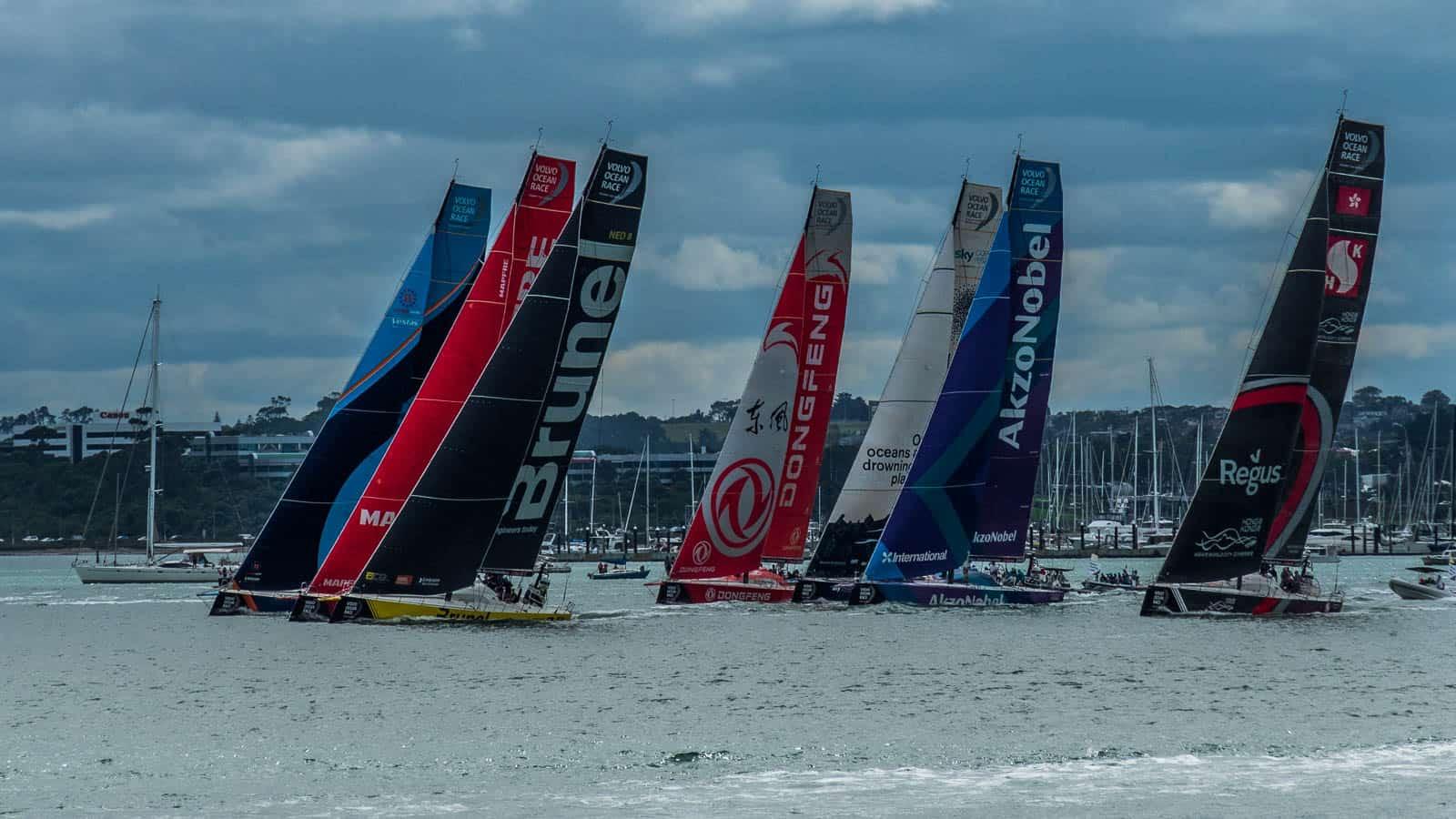 Volvo Ocean Race Auckland stop over