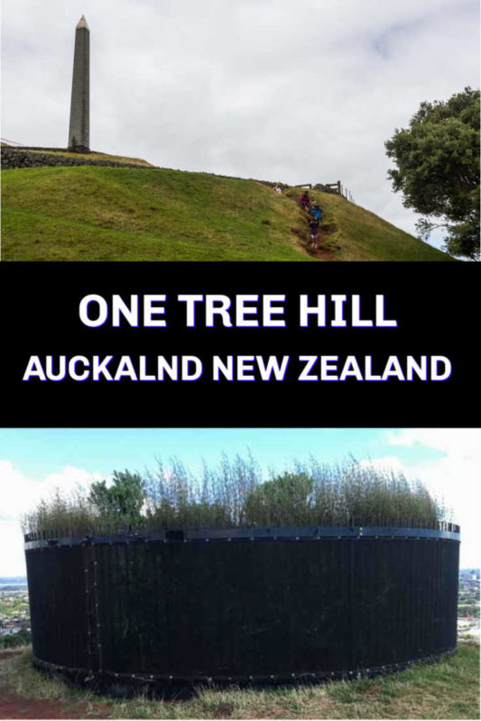 One Tree Hill in Auckland New Zealand