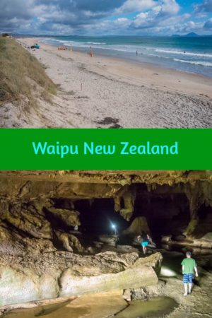 Waipu Cave and Waipu Cove, Northland New Zealand