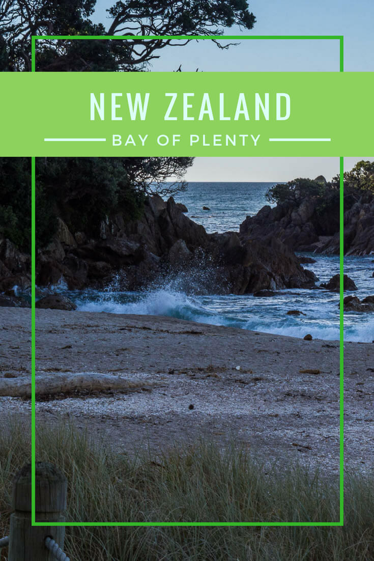 New Zealand's Bay of Plenty is #beaches, #volcanos, #geothermal region, and more. #Travel #NewZealand #BayofPlenty #Tauranga #MountMaunganui #hiking #ocean