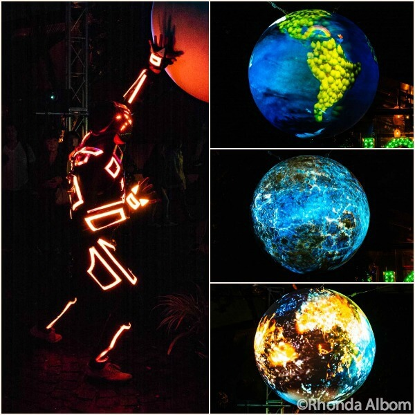 Bright Nights An Interactive earth in Auckland New Zealand